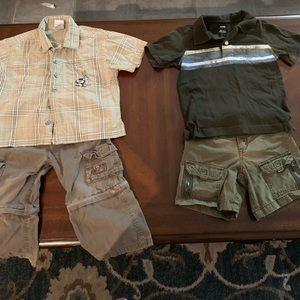 Boys 2t Gymboree lot 2 outfits